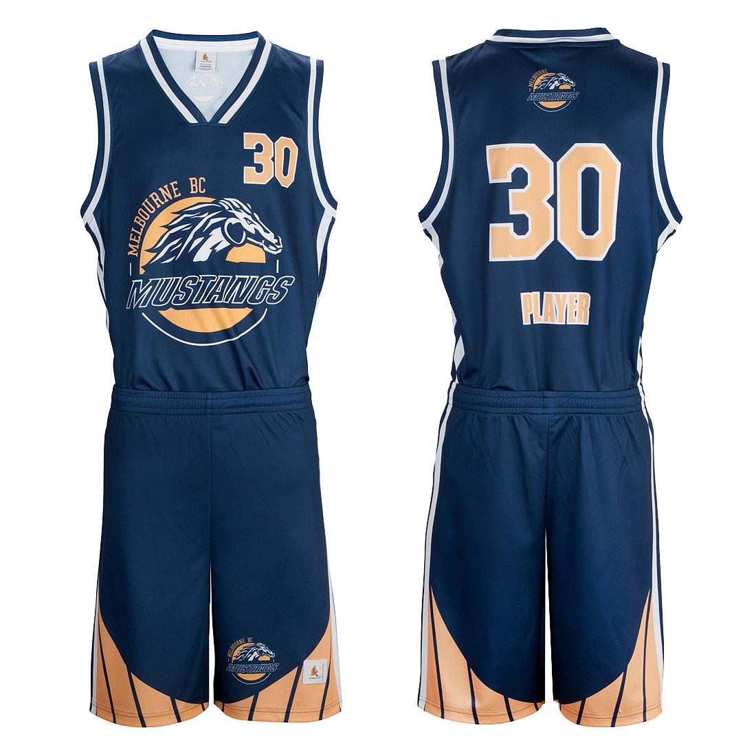 Custom Elite Sublimated Basketball Uniforms from Slamstyle